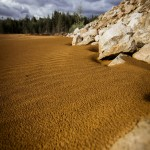 Den röda sandens dal sand röd red öde mars dött desolate dead