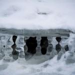 Isformationer vatten istappar isformation is