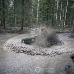 Offroad Rörken Mars 2014 skogen rörken offroad lera