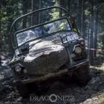 Offroad April skogen rörken offroad lera