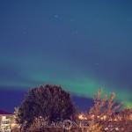 Norrsken Uppsala northern lights norrsken Magiskt ljusfenomen himmel grönt ljus