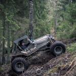 Offroad Rörken December uteiskogen skogskörning skogen rörken offroad lerkörning lera jeep flyger