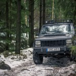 Rörken Mars 2016 skogskörning skogen rörken offroad