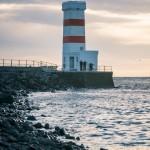 Island 2016   Dag 7 sunset solnedgång lighthouse island iceland Garður fyr birds
