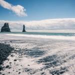 Island 2016   Dag 6 waterfall vattenfall väg snow snö sheep ravin puffin mountain lunne Kirkjubæjarklaustur island iceland fjäll fell får berg beach asfalt