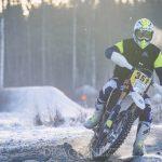 Enduro Östra Open Sala 2017 vinterenduro snöenduro sala östra open mx motorcross hojj Enduro crosshoj
