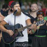 Reggaetoner med Afro i Källparken reggae musik kör källparken afro