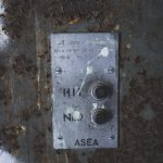 Vi till vår gruva gå ue övergivet lave industri gruvlave gruva graffiti